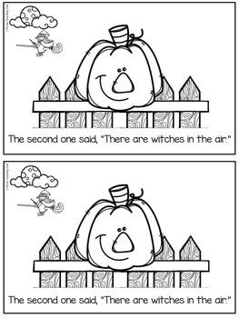 Five Little Pumpkins (A Printable Little Reader)