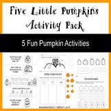 Five Little Pumpkins Activity Pack (Lower Elementary - Pri