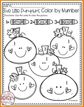 Five Little Pumpkins Activities