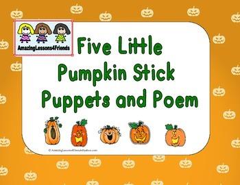 Five Little Pumpkins BW