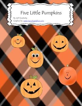 Five Little Pumpkins Book