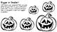 Five Little Pumpkins Center Activities
