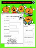 Five Little Pumpkins Cut And Paste Poem