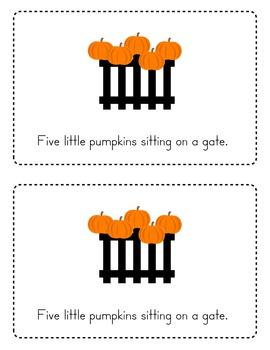 Five Little Pumpkins Emergent Reader