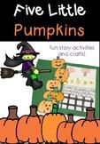 Five Little Pumpkins - Halloween Activities