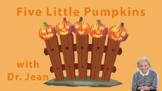Five Little Pumpkins Halloween Cards