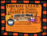 Five Little Pumpkins Halloween - STEAM STEM *Editable Word