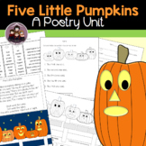 Five Little Pumpkins Learning Center Activities
