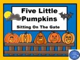 Five Little Pumpkins - Make a Fun Book & More