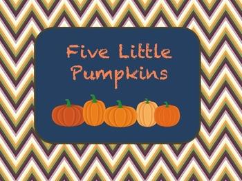 Five Little Pumpkins Poem - 2 Versions