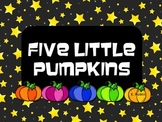 Five Little Pumpkins Poem & Song