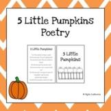 Five Little Pumpkins Poetry