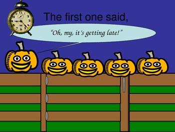 Five Little Pumpkins PowerPoint