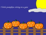 Five Little Pumpkins PowerPoint