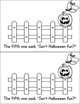 Five Little Pumpkins Preschool Lesson (Highscope)