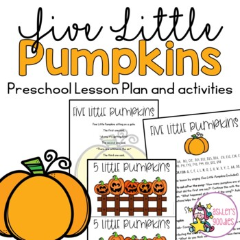 Five Little Pumpkins Preschool Lesson (Highscope)