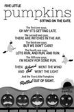 Five Little Pumpkins - Printable Poem