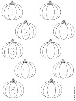 Five Little Pumpkins - Retell and Number Sense Fun