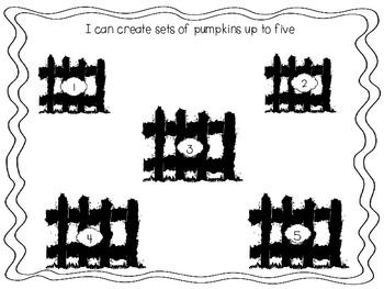 Five Little Pumpkins Sitting on a Gate Freebie