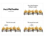 Five Little Pumpkins Slideshow Style Movies IWB/iPod Hallo