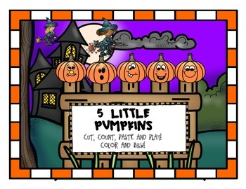 Five Little Pumpkins freebie!