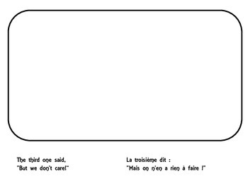 Five Little Pumpkins in French to illustrate