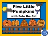 Five Little Pumpkins with Pete the Cat-Make a Number Word