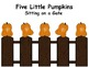 Five Little Pumpkins....Ordinal Positions 1st - 5th