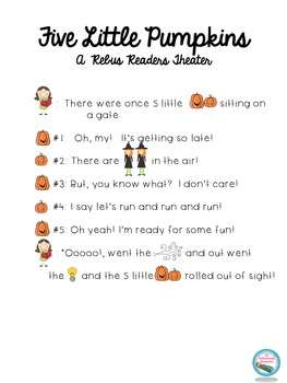 Five Little Pumpkins Readers Theater