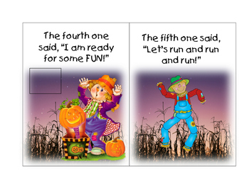 Five Little Scarecrows