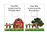 Five Little Scarecrows Mini  Book