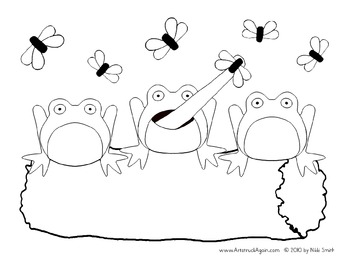 Five Little Speckled Frogs Activities