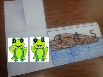 Five Little Speckled Frogs Counting 1-5 Activities C-scope Common Core