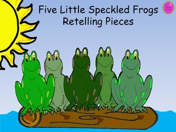 Five Little Speckled Frogs Retelling Pieces