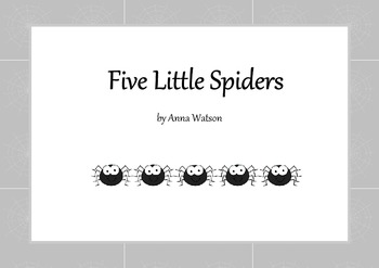 Five Little Spiders - Halloween