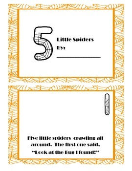Five Little Spiders