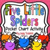 Five Little Spiders (Pocket Chart Activity)
