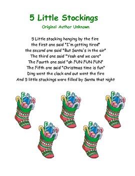 Five Little Stockings