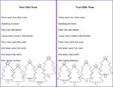 Five Little Trees Poem