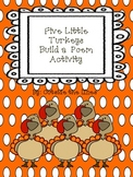 Five Little Turkeys Build a Poem
