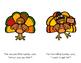 Five Little Turkeys No Cut Book