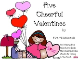 5 Little Valentines: Standard-based, Subtraction from 5 bo