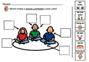 Five L's of Listening Worksheet