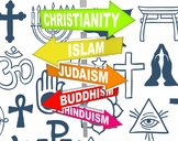 Five Major World Religions Study Guide