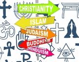 Five Major World Religions Study Guide