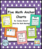 Five Math Anchor Charts