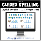 Five Minute Guided Spelling Phonics Digital Distance Learn