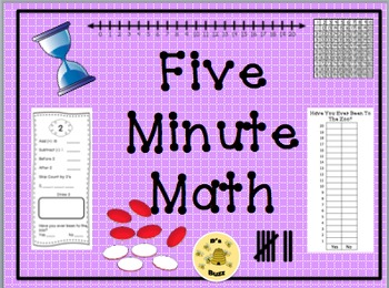 Five Minute Math Canadian Version