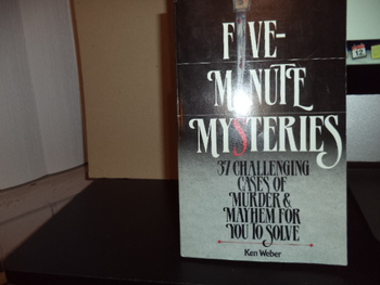 Five-Minute Mysteries ISBN 0-89471-690-5