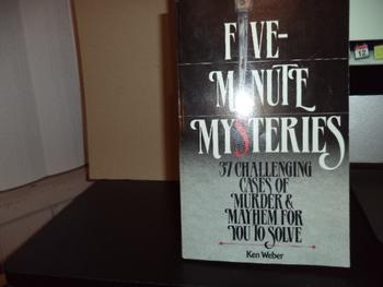 Five-Minute Mysteries ISBN 0-89471-690-5